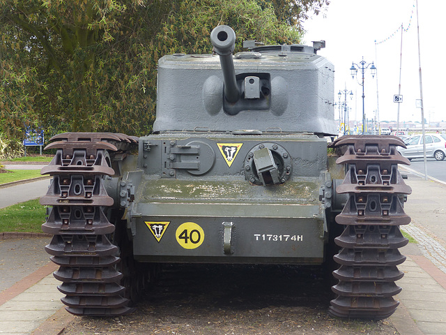 Churchill Tank (2) - 2 June 2014