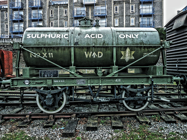 Sulphuric Acid Tanker (Fake HDR)