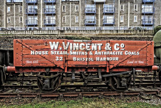 Coal Wagon (Fake HDR)
