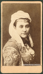 Portrait of a lady in Ottoman garb