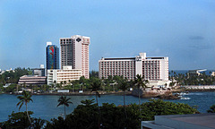 El Caribe Office Building and the Caribe Hilton