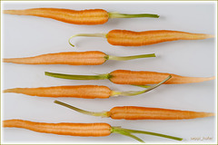 carrotts in halves