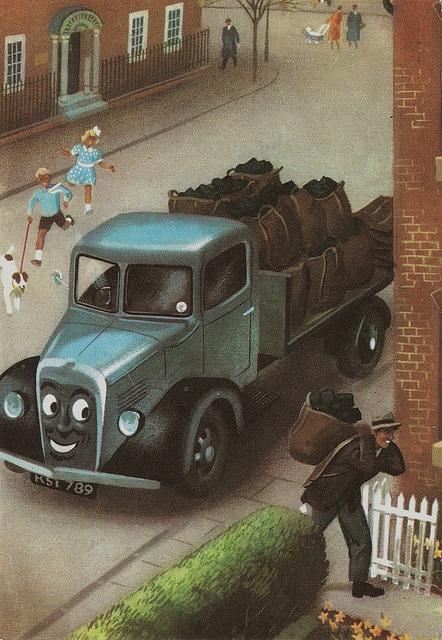 Cuthbert the Coal Cart.