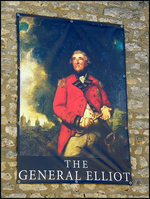General Elliot pub sign