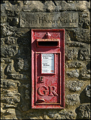 South Hinksey Village post box