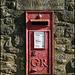 South Hinksey Village post box