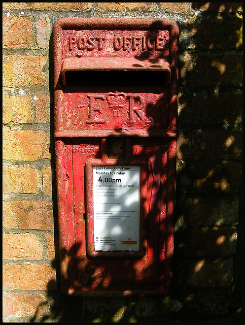shy post box