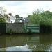 derelict canalside boatyard