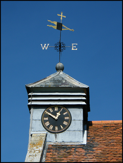 Wootton weather vane