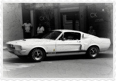 1967 GT 500 Shelby Mustang