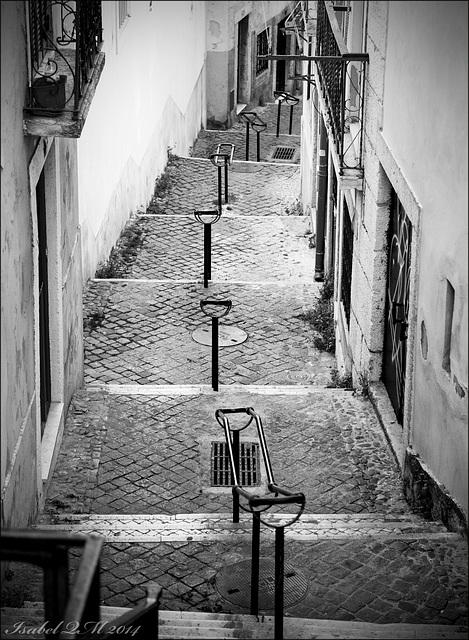 Lisboa às escadinhas