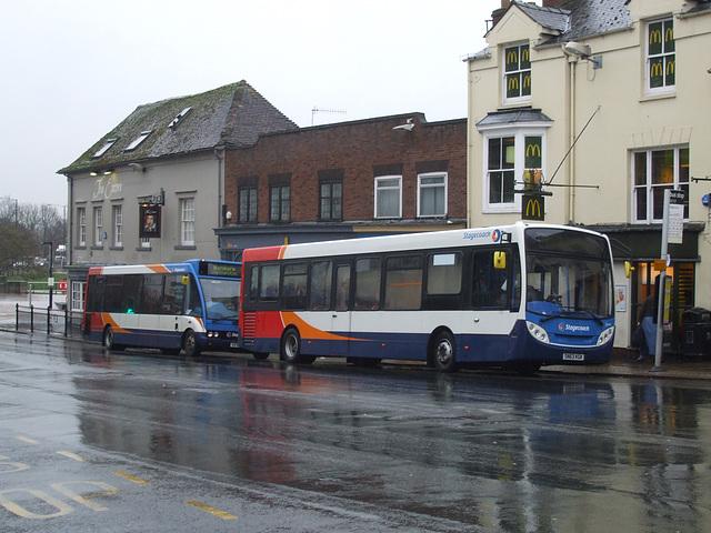 DSCF4538 Stagecoach SN63 KGK and KX51 CTK