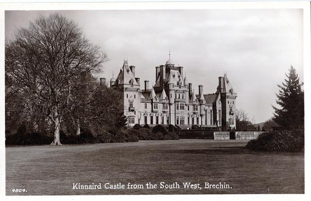 Kinnaird Castle, Brechin, Angus