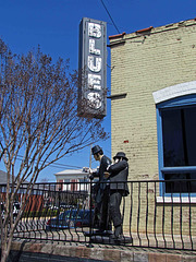 Blues Brothers Statues