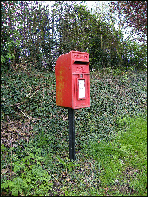 Chiselhampton post box