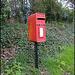 Chiselhampton post box