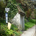 Chiselhampton bus stop