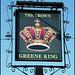 The Crown pub sign