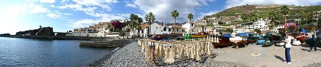 Madeira. Hafen-Panorama mit Stockfischen... :-)) ©UdoSm
