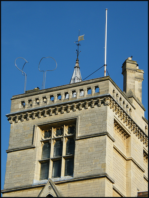 Balliol wind vane