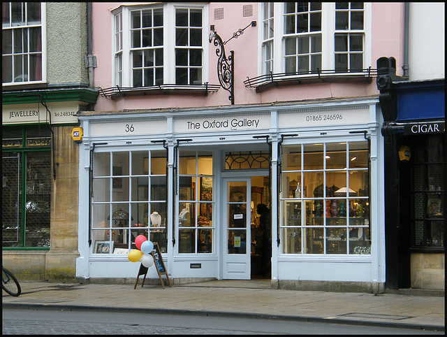 Oxford Gallery shop
