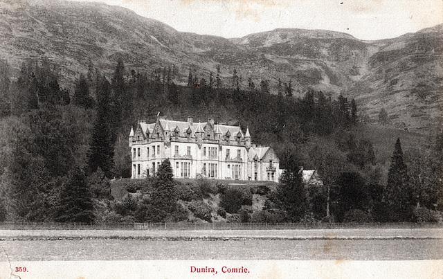 Dunira House, Cumrie, Perthshire (Demolished)