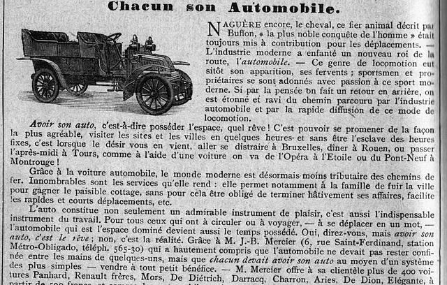 en 1907 ils étaient optimistes