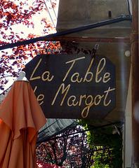 La table de Margot