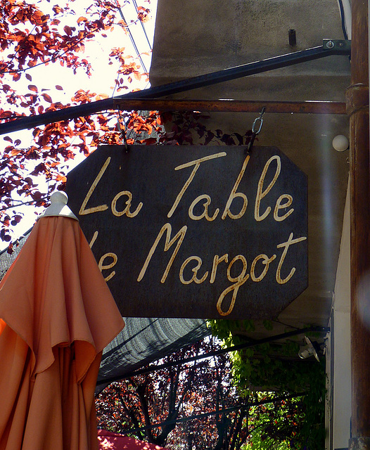 La table de Margot