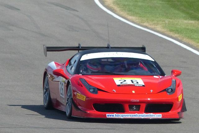 A Ferrari at Goodwood (1) - 1 July 2014