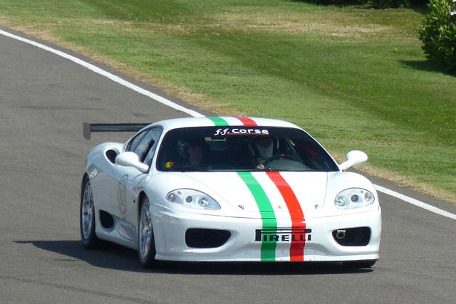 A Ferrari at Goodwood (2) - 1 July 2014