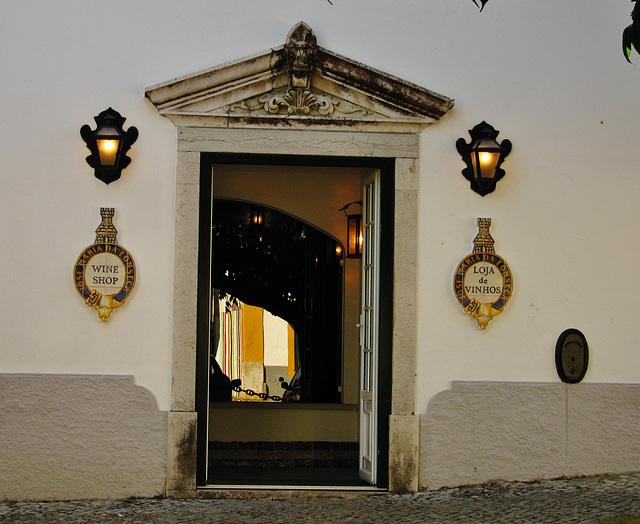 Entry to José Maria da Fonseca's cellar