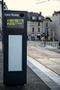 BESANCON:Essais du Tram: Station de la Gare Viotte. 01