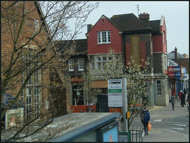 Princes Street bus stop