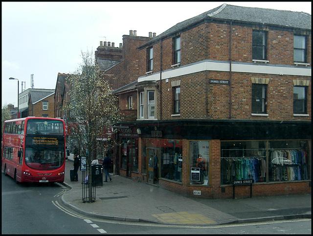 James Street bus stop