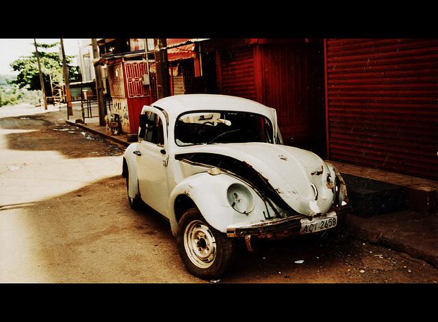 V ist for Volkswagen