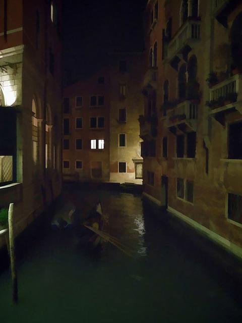 mysterious gondola