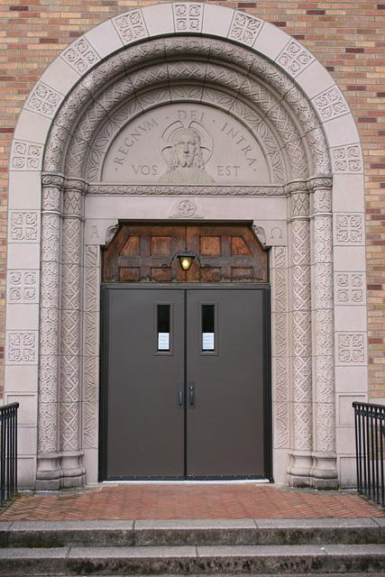 Seminary door