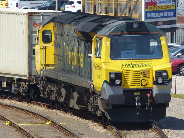 70020 at Millbrook (1) - 2 July 2014