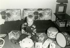 Kadin's Birthday Cake, Goofy Ball, and Other Toys