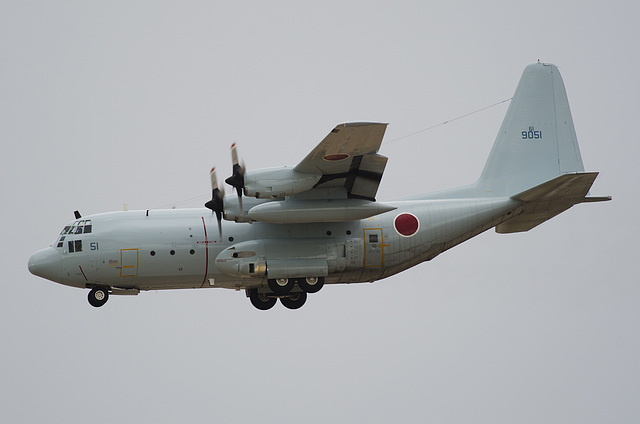 Japanese Maritime Self-Defense Force Lockheed KC-130R Hercules