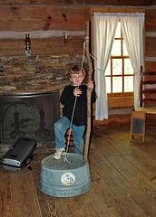 Washtub Bass Player
