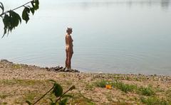 :-) Mit Monika am Pratschwitzer See :-)