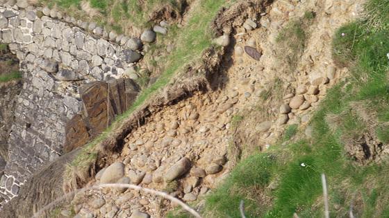 A lot of landslides