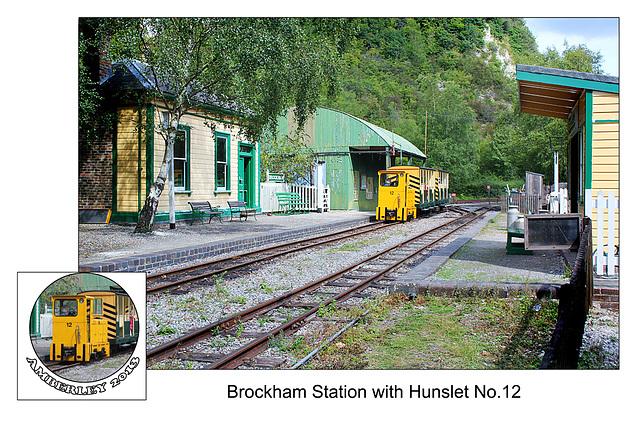 Brockham Station  - Amberley - 29.8.2013
