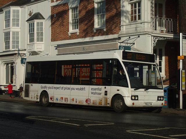 DSCF4578 Johnsons Coach and Bus YN53 YHA