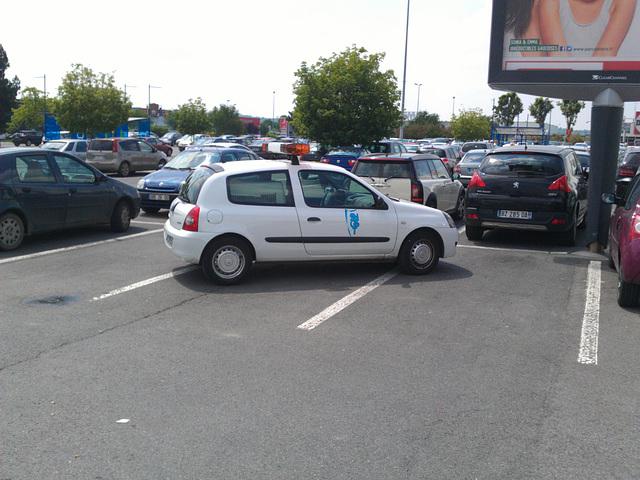 Parking like a ...