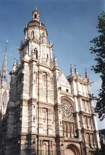 cathédrale d'Evreux le 19 août 1997 ....