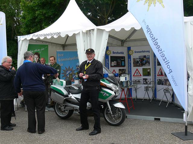 Polizei beim Katholikentag