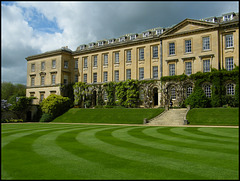 Worcester College lawn
